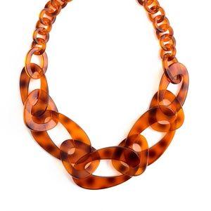 Mod Resin Links Necklace